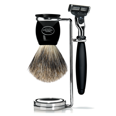A good shaving set is essential