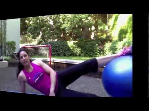 5 Stability Ball Moves for Killer Abs
