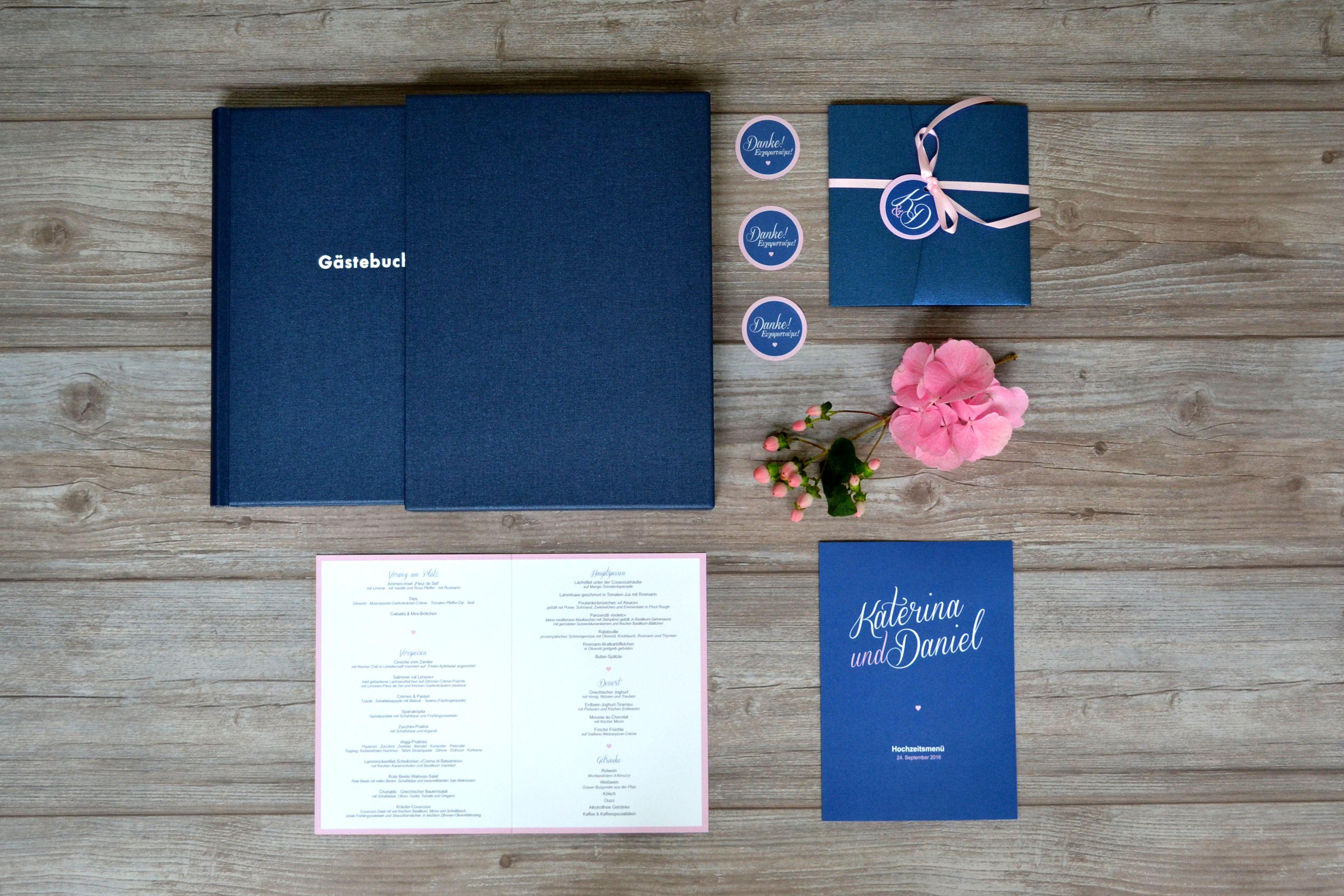 Hochzeitseinladungen Pocketfold eine romantische verspielte