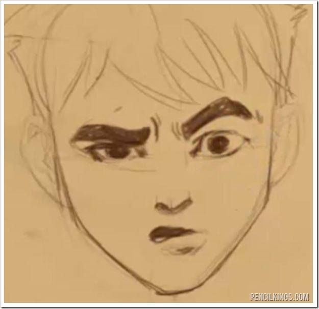 Drawing A Confused Face Without The Confusion Face Drawing Drawing Expressions Confused Face