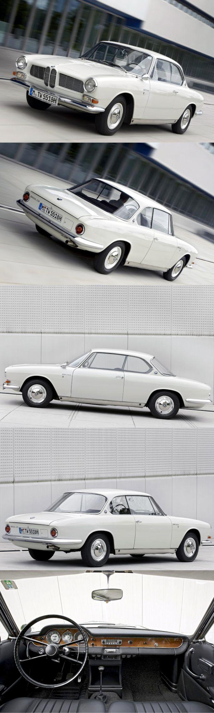 1962 BMW 3200 CS / Bertone / 603pcs / 160hp V8 / Germany / white ...