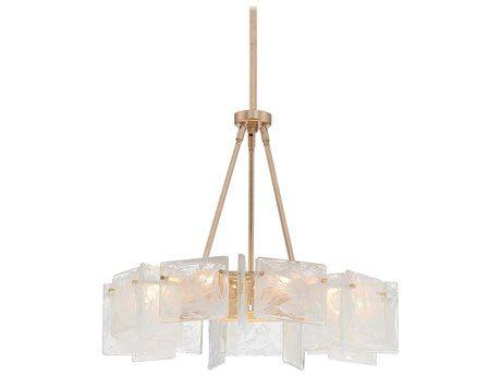 Metropolitan Lighting & Metropolitan Chandelier Sale - Metropolitan Lighting Arctic Frost Antique French Gold Nine-Lights