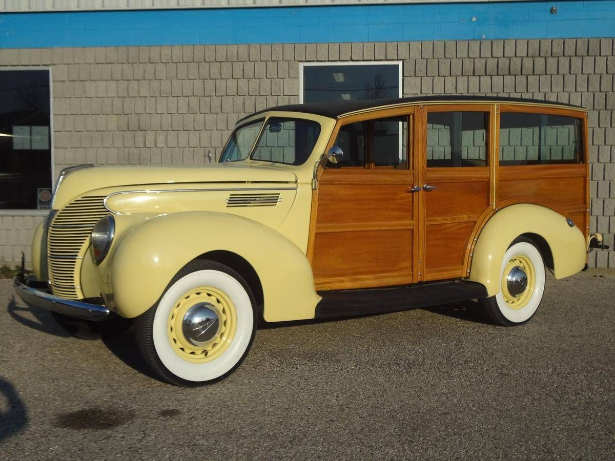1939 Ford Woody Wagon..Re-pin brought to you by agents of ...