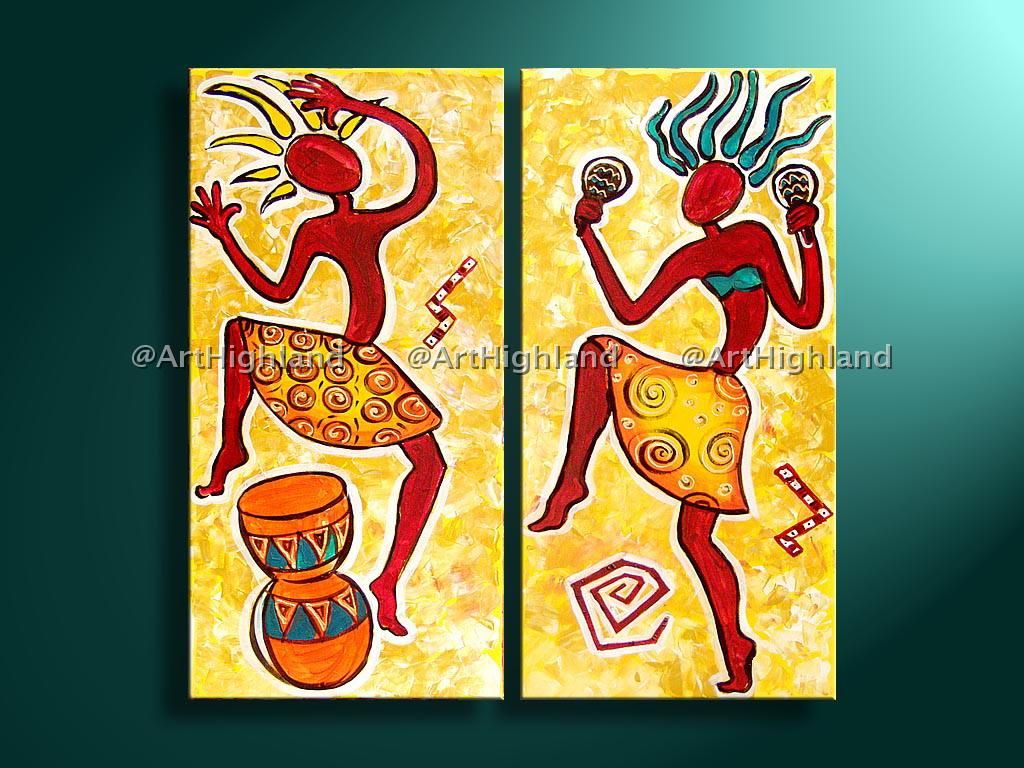 Hand Painted Abstract Oil Painting Paintings on Canvas Wall Art ...