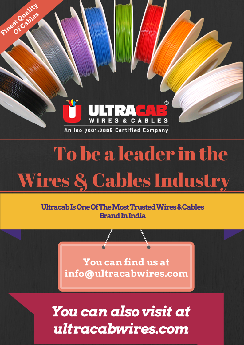 Ultracab (India) Limited is one of the most eminent #Manufacturer ...
