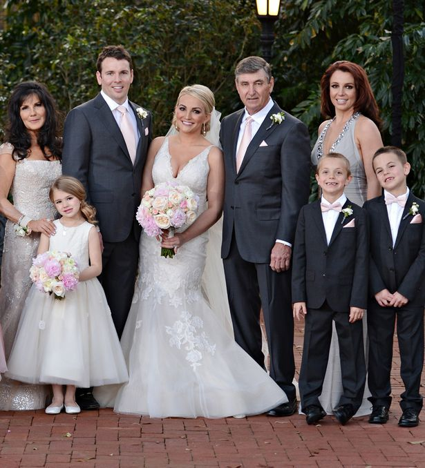 Celebrity Wedding Singers: Britney The Bridesmaid: Singer Stuns In Fishtail Dress As