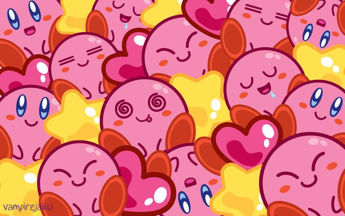 So Many Kirbys Wallpaper by VampireJaku on deviantART