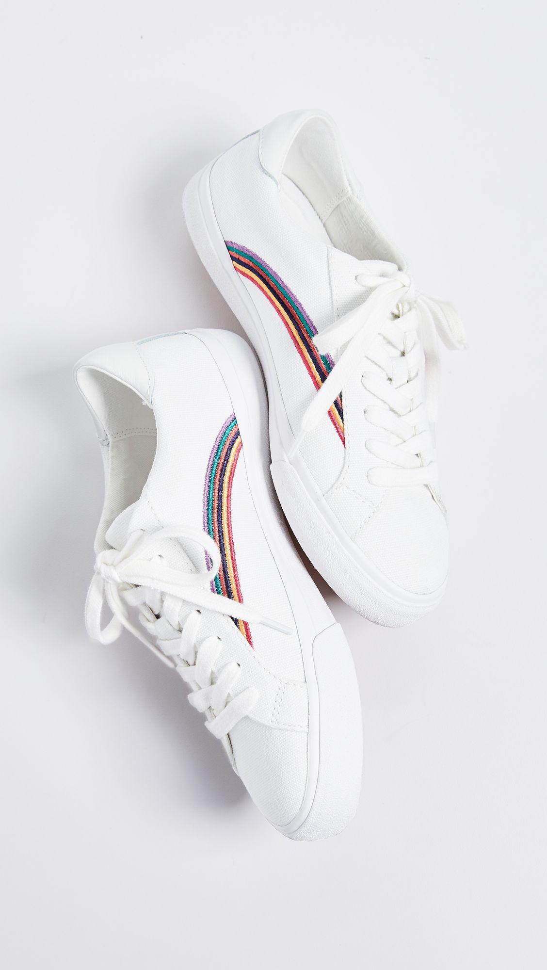 s Sidewalk Low-Top Sneakers in Rainbow