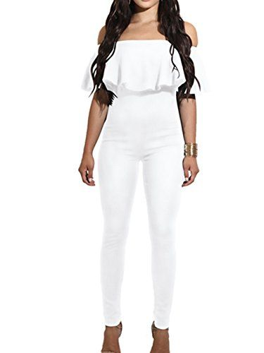 627fdb072e07 Jumpsuit Collection from Amazon. Jumpsuit Collection from Amazon All White  ...