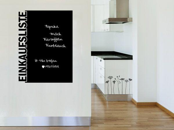 Tafelfolie Küche für die küche ideen für kreative küchen tafelfolie wandtattoos