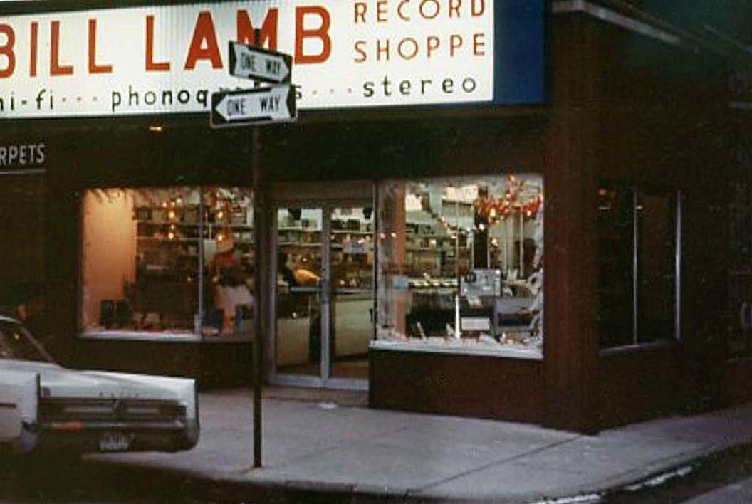 Bill Lamb Record Shop Corner Of 1st Street And Harrison Street Flint Michigan Michigan Flint