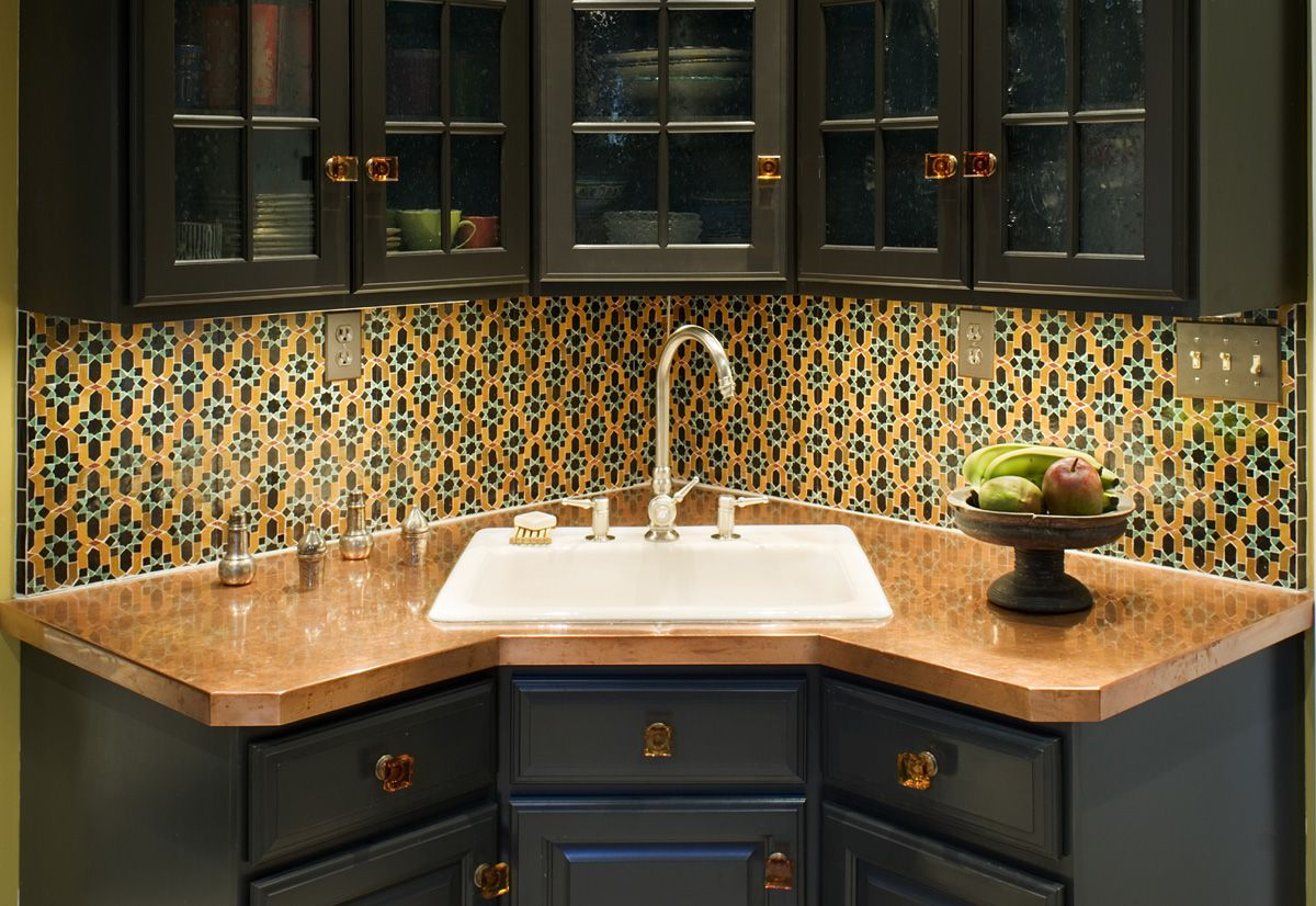 Awesome Corner Kitchen Sinks | Hominic Kitchen Inspiration | Pinterest