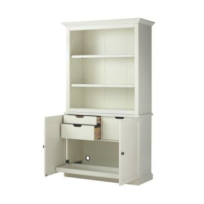 shabby bookcases built lovely ivory shelves painted ideas bookcase in originals vintage and chic