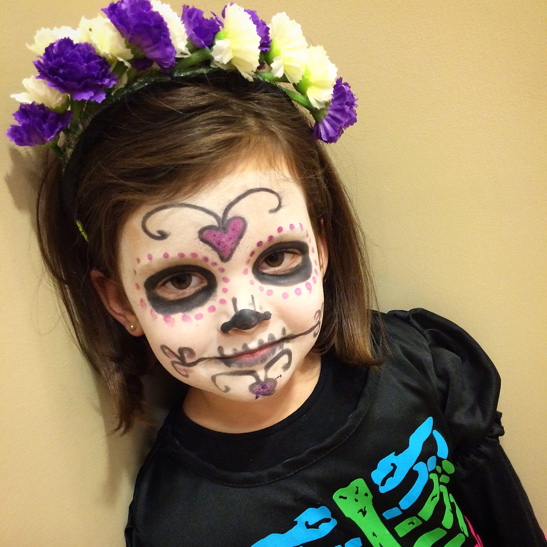 Ni os disfraces maquillaje catrina calavera kid hallowen make up pinterest calaveras - Como pintar a una nina de bruja para halloween ...