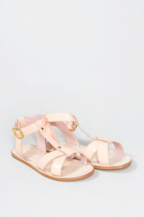 66ab69583dbd9c Shop for Footwear at Incu   Primrose Sandals in Patent Pink by Vanishing  Elephant   Incu