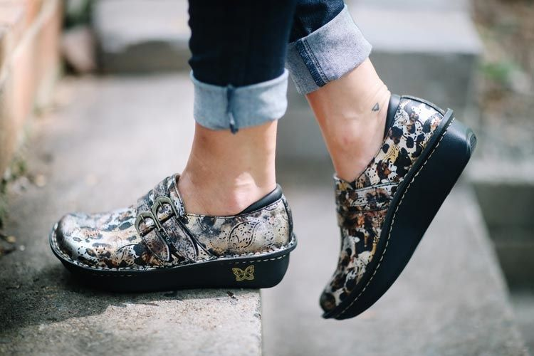 Alegria Shoes - Alli Rome Patent