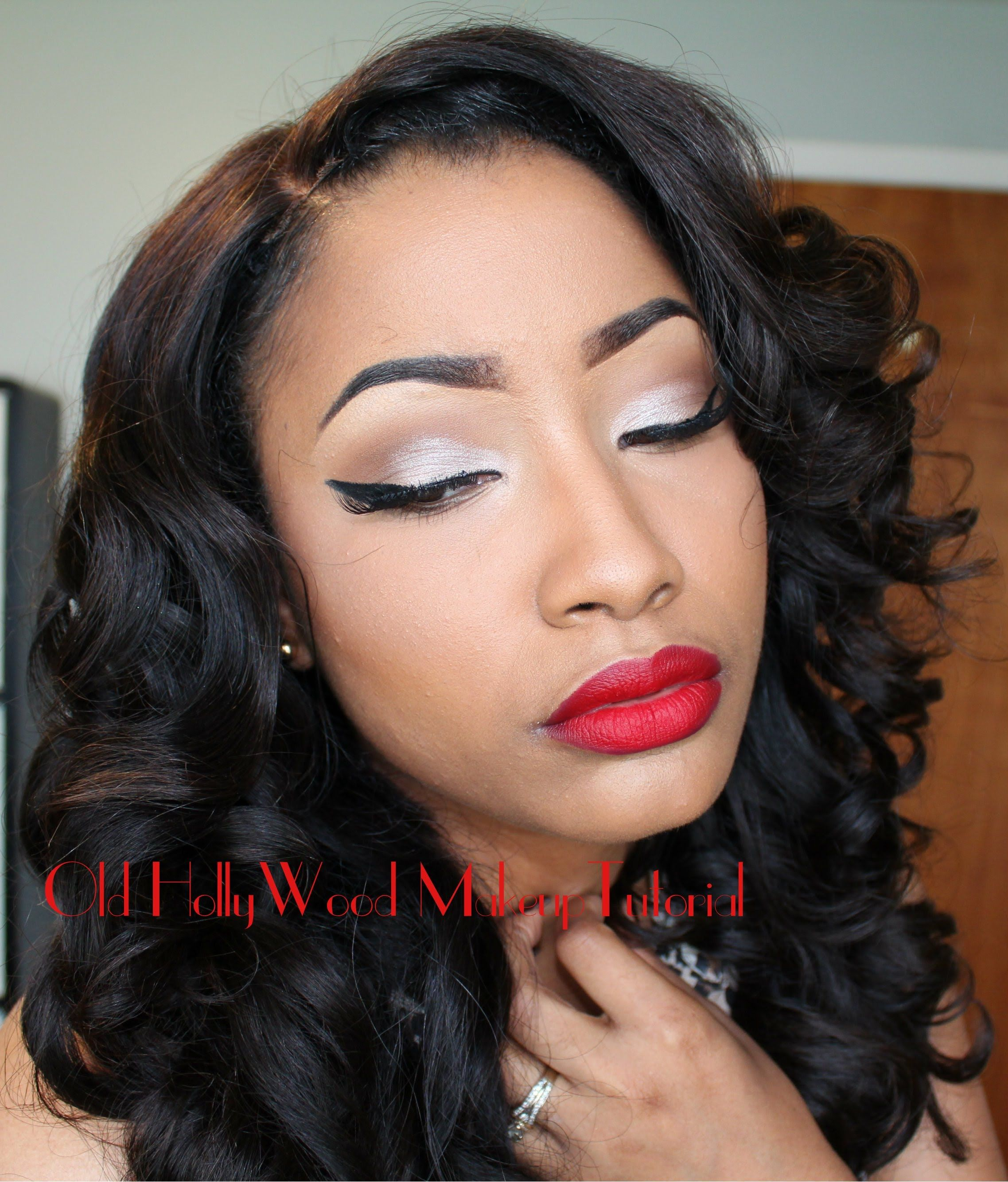 Watch me transformold hollywood makeup tutorial 3 pinterest watch me transformold hollywood makeup tutorial baditri Image collections