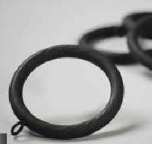 Iron Rings For Use With Rustic 2 1 4 Inch Diameter Wooden Curtain