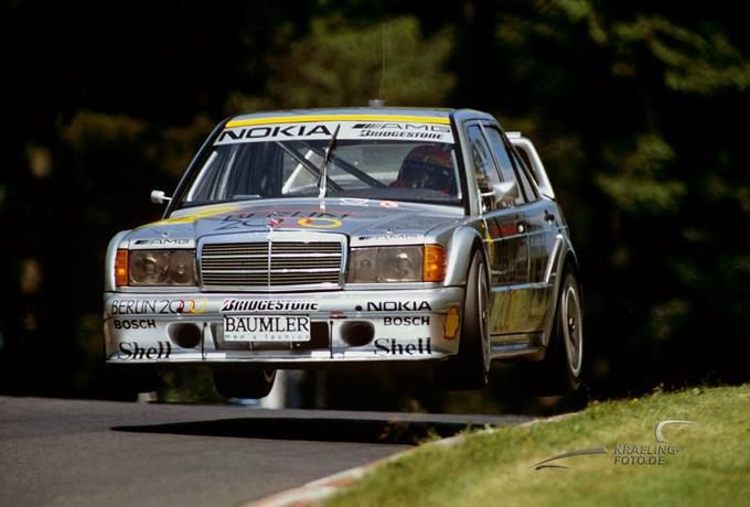 Mercedes 190E 2 5-16 Evo2 from the 1992 DTM race at