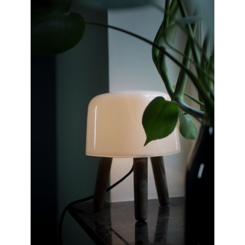 Lampe   poser MILK – Bois teinté – ˜20 cm – And Tradition
