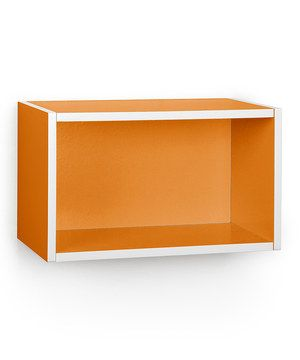 Look what I found on #zulily! Orange Wall Rectangle by Way Basics #zulilyfinds