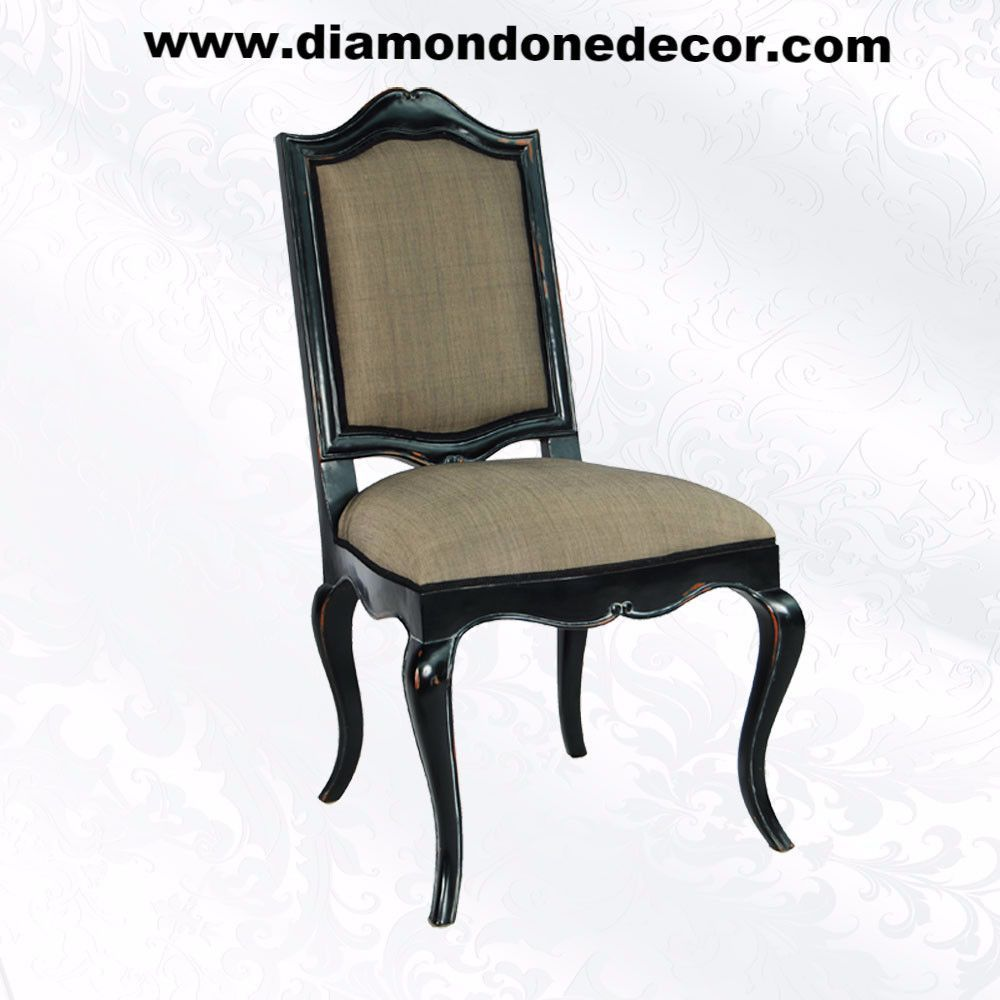 Paris Fabulous French Provincial Louis XIV Reproduction Dining Side Chair
