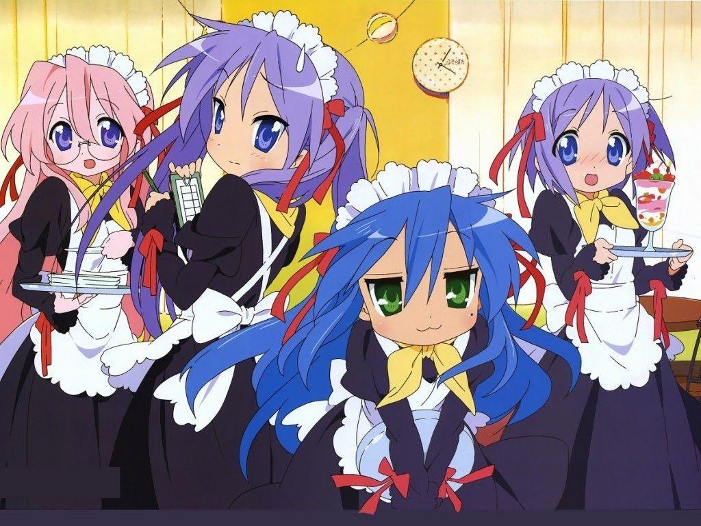 Lucky Star Maid Uniform Anime Lucky Star Anime Maid