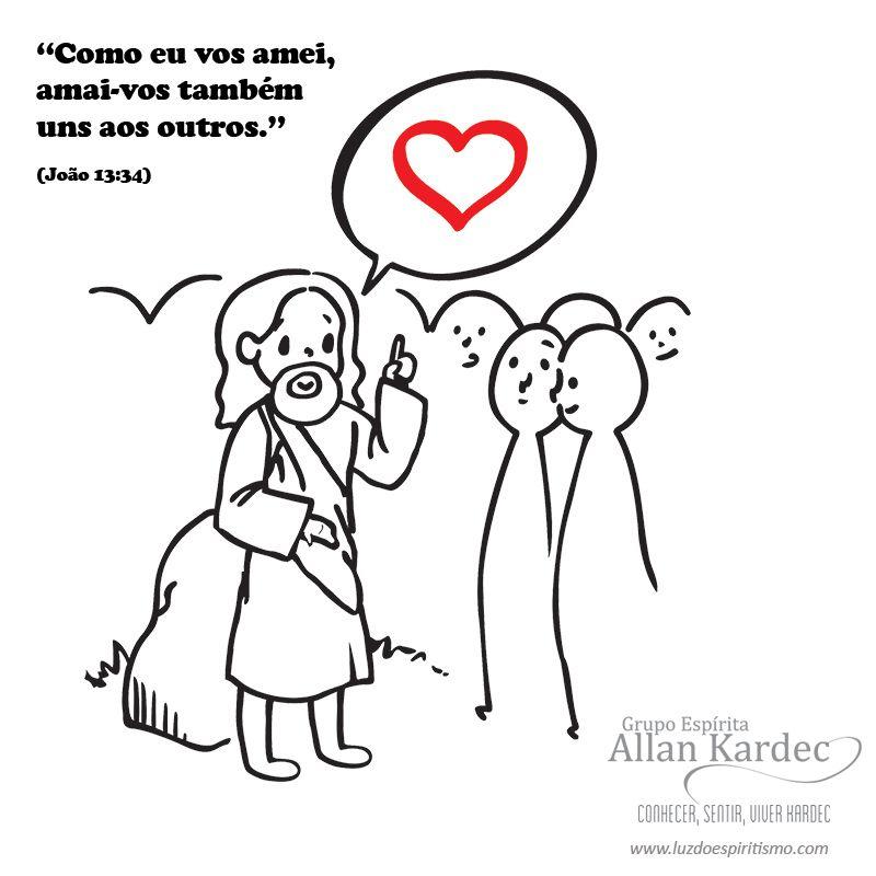 Espiritismo Em Imagens Para Criancas O Ensinamento De Jesus