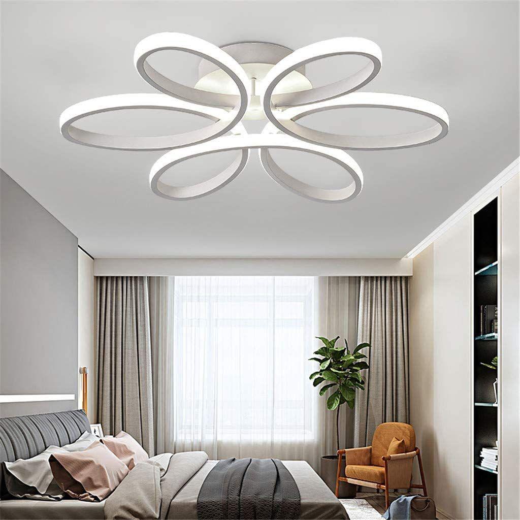 Wjjh Lafoniera A Led 72w Moderno Creativo Metallo Acrilico Paralume Elegante Lampada Da Nel 2020 Lampadari Camera Da Letto Lampade Da Soffitto Idee Per Decorare La Casa