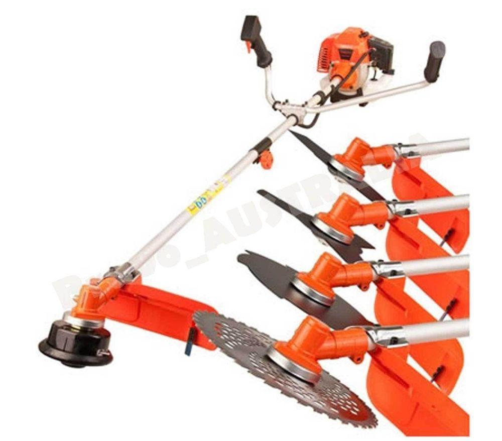 New 5 In 1 Brush Cutter Hedge Trimmer Whipper Snipper 43cc Edger