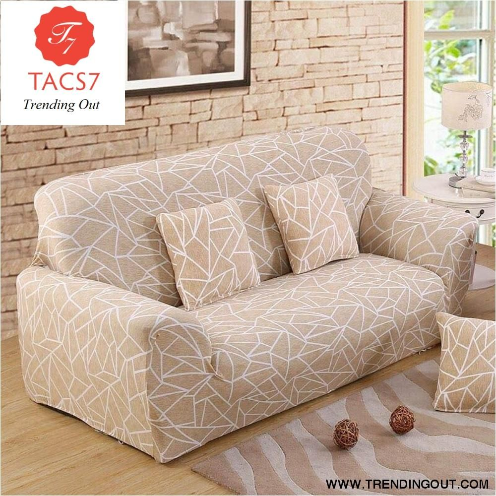 Stretch Sofa Covers In 2020 Sofa Covers Couch Covers Printed Sofa