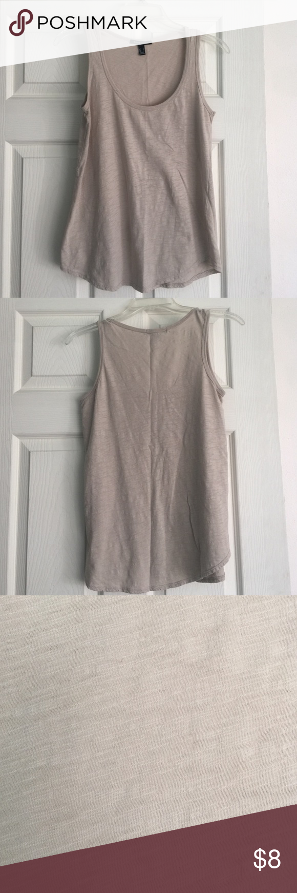 Sand colored MNG Basics tank EUC. Sz XS but I think could fit a small too. Feel free to make a reasonable offer. Not sure what's reasonable? Check out the chart at the top of my closet ☺️ MNG  Tops Tank Tops