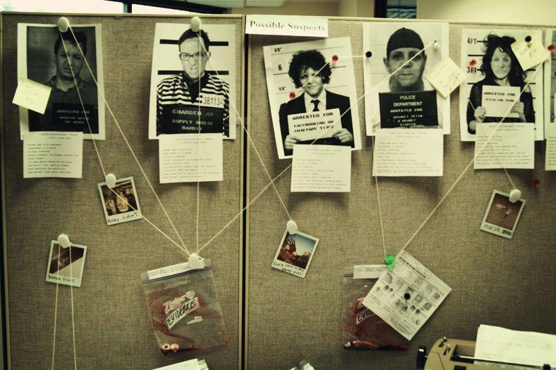 Little Gray Fox: Halloween at the Office: CSI | Office ...