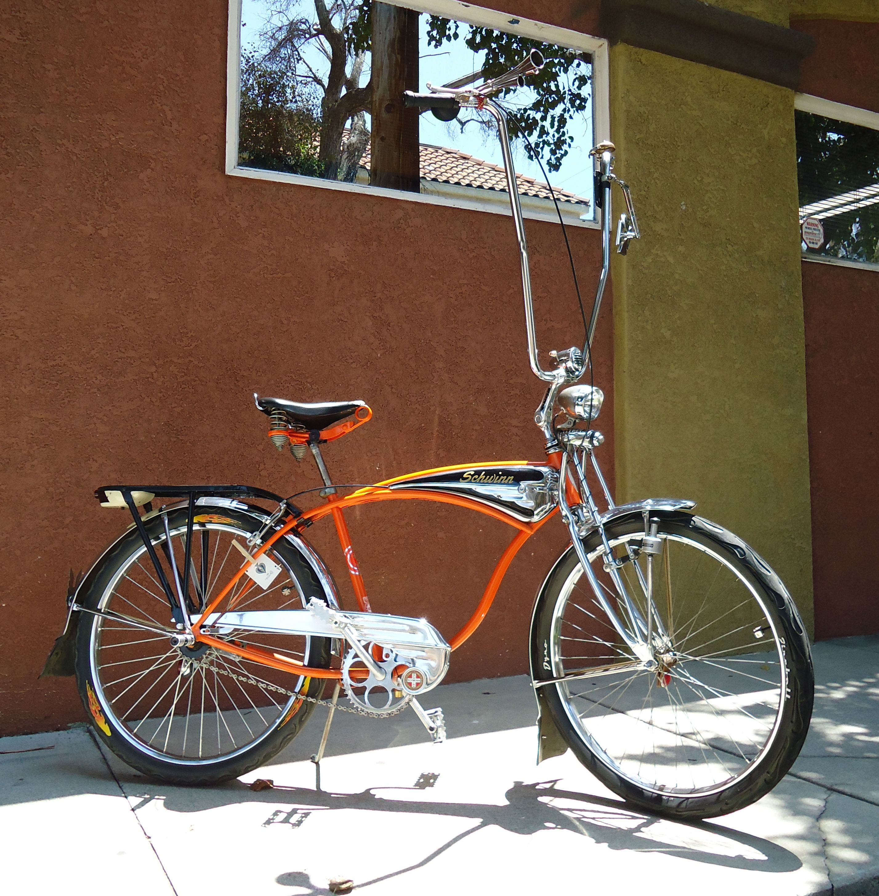 Schwinn Cruiser Chopper Style Retro Bike Custom Bicycle Beach