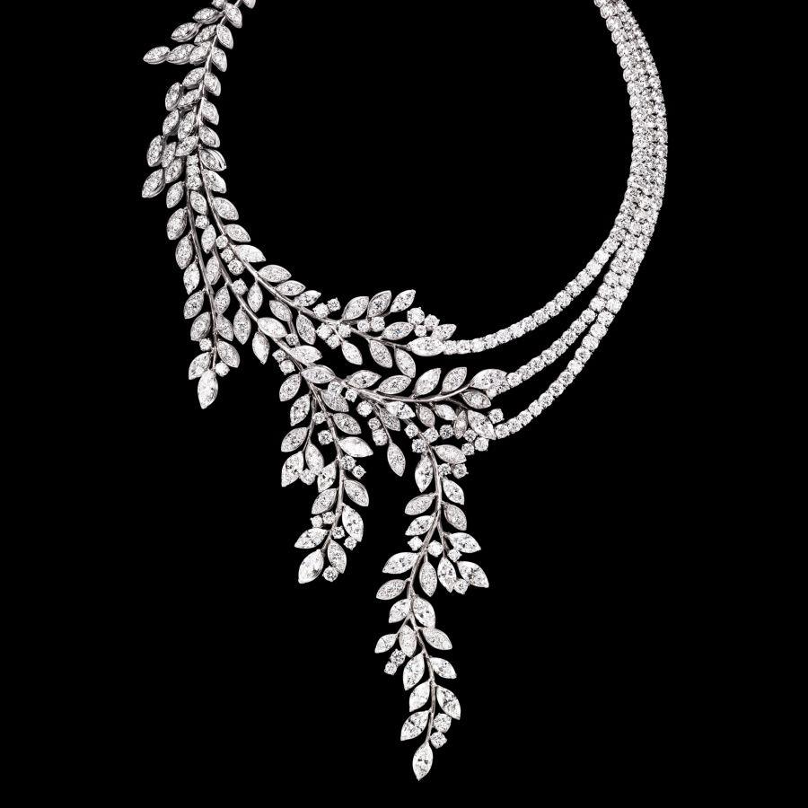 15 Designs Of Amazing Diamond Necklaces | White gold diamond ...