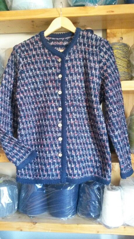 Tejido a palillo tweed
