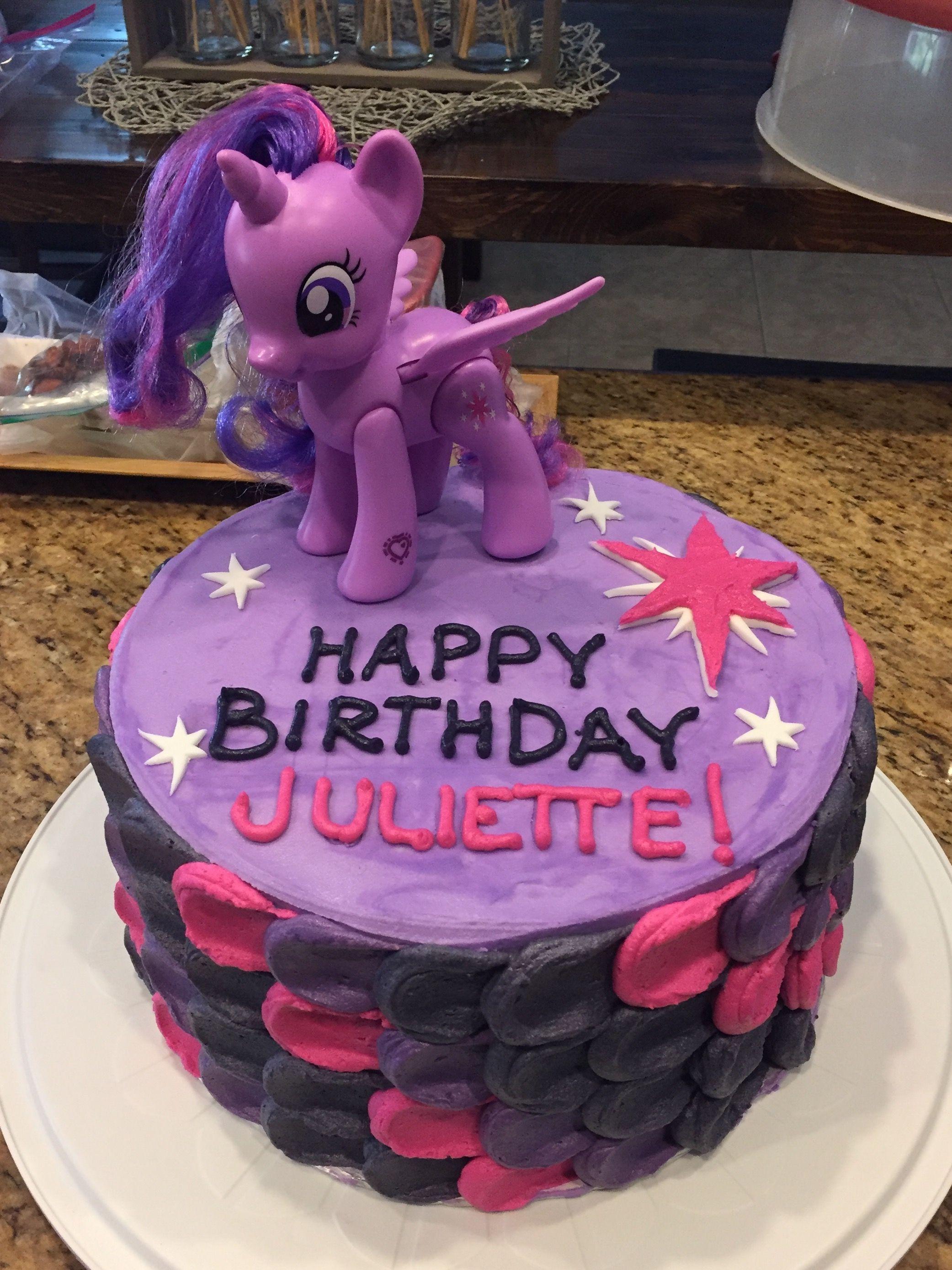 Princess Twilight Sparkle Cake Sparkle Birthday Birthday Cake
