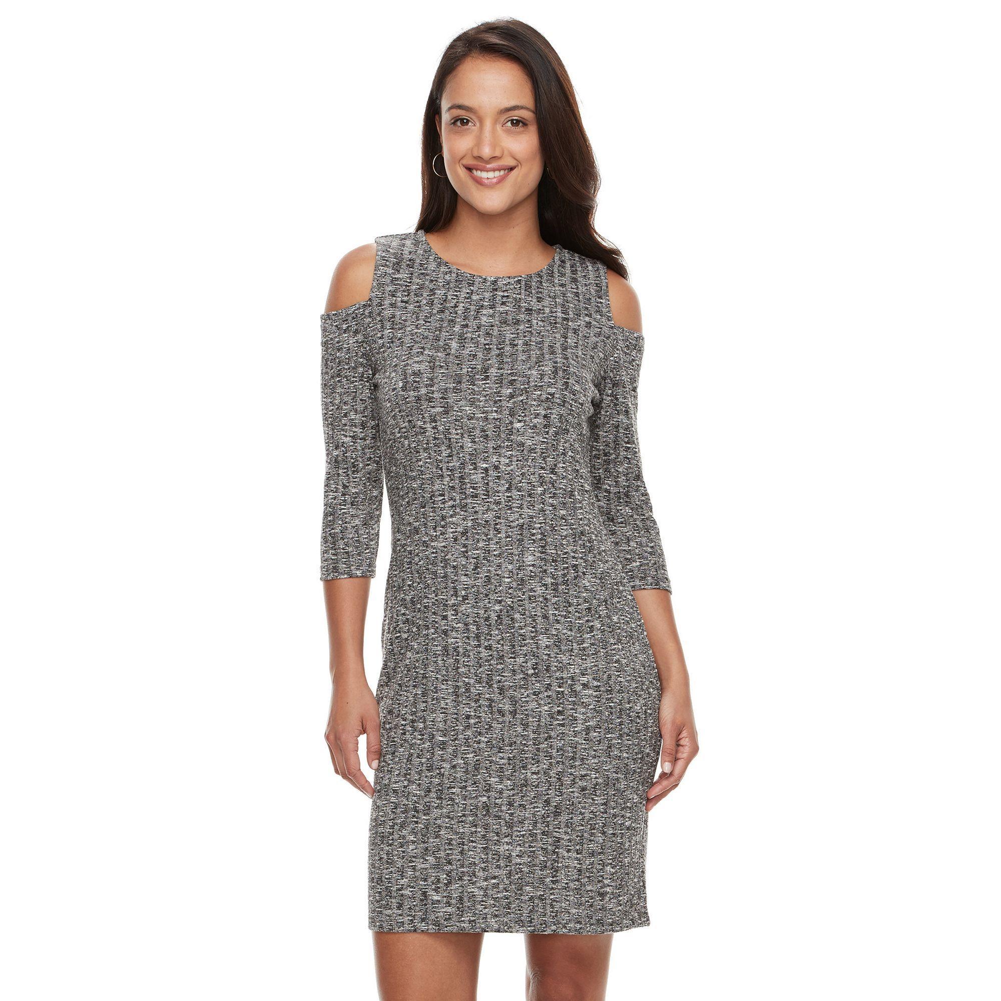 186bbadf490 Women s Sharagano Cold-Shoulder Dress