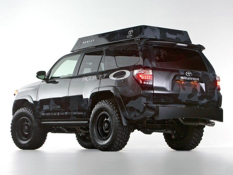 2016 Toyota 4runner Rear View Design Images