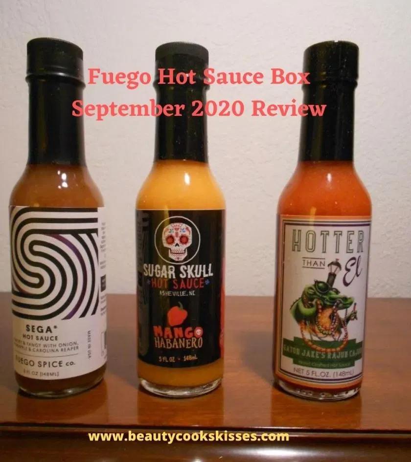 Fuego Box Hot Sauce Subscription September 2020 Subscription Boxes Hot Sauce Hot Sauce Bottles