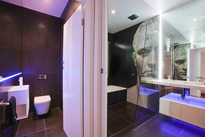 Design Modern Bathroom Unexpected Mosaic Portrait Dominating Small Awesome Bathroom Design Australia Review