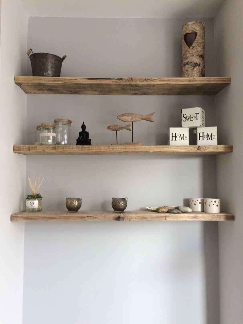 Floating Shelves Reclaimed Scaffolding Boards Living Room Wall Units Study Room Decor Living Room Shelves