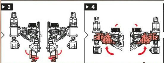 Instructions 3 and 4 for attack mode