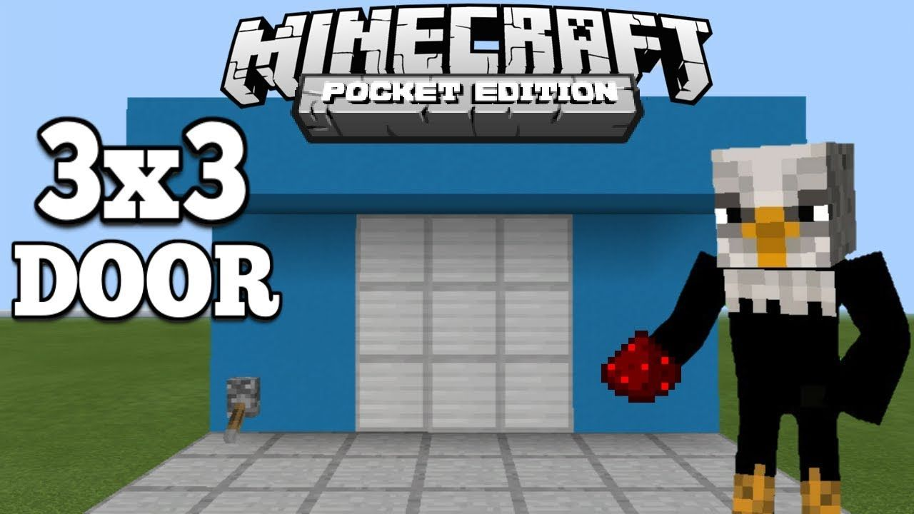 Pin On Minecraft Pinterest Redstone And Basic Circuitry Wiki Hello Welcome Back To Another Redstonetutorial Today I Am Gona Show You How Make Simple Door In Pe If Have Any Other Ideas