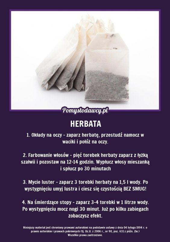 5 Niezwyklych Zastosowan Zwyklej Herbaty Ktore Cie Zaskocza Healthy Life Hacks Household Remedies Natural Food