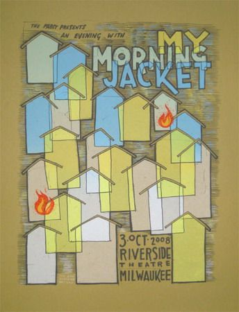 My Morning Jacket Poster By Jay Ryan My Morning Jacket Poster Poster Prints