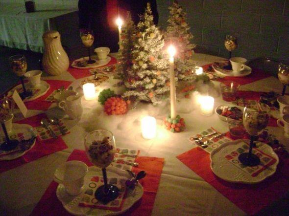 Christmas Tea Table Decoration Themes Christmas Tea Party