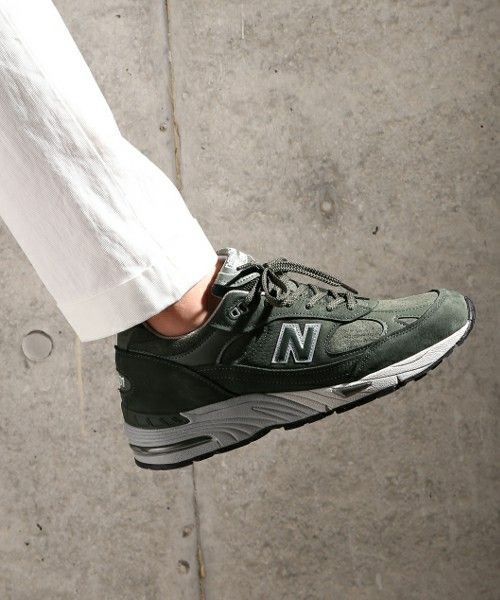 bebf6b19b11ab New Balance 990: Forest Green | Sneakers & Shoes in 2019 | New ...