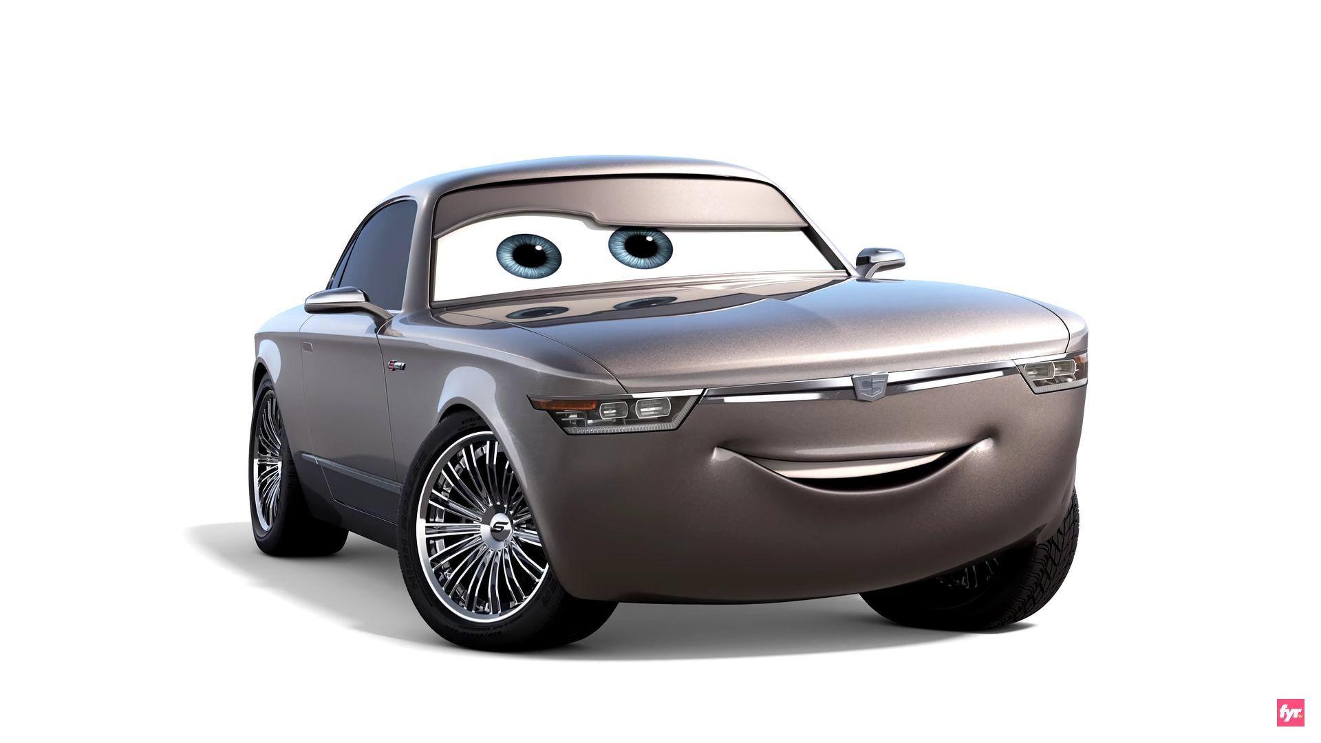 A Teslalike sedan named Natalie Certain and a demolition