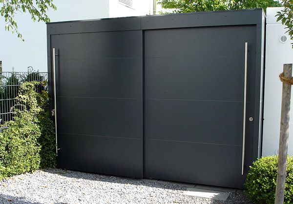 edler gardomo gartenschrank mit schiebet ren garage in 2018 pinterest gartenschrank edel. Black Bedroom Furniture Sets. Home Design Ideas